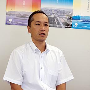 神戸市 営業開発グループ 企業誘致担当課長の末若雅之氏
