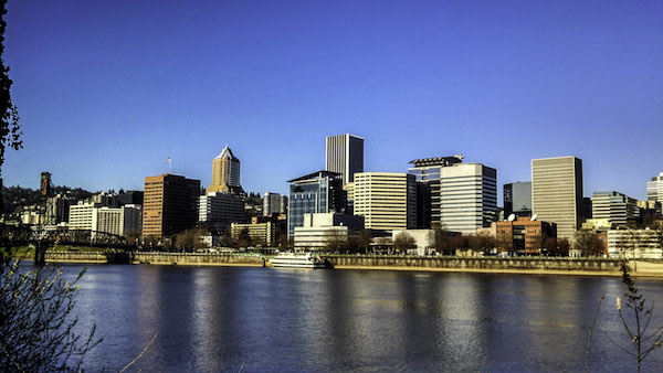 skyline-of-portland-oregon