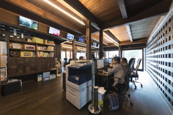 ネット環境の整ったサテライトオフィス