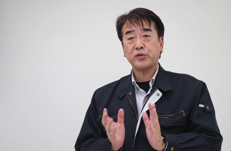 伊万里グリーンファーム社長の前田清浩さん