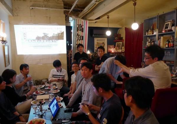 高知県の担当者、中村による熱い高知トークも!