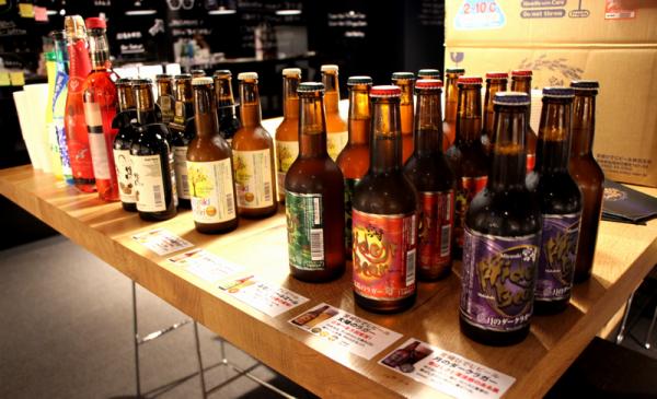 宮崎県の皆さまが提供してくださったクラフトビール